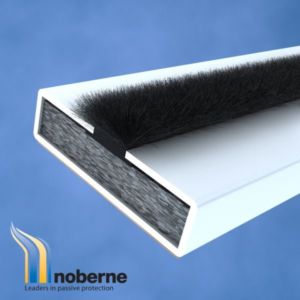 Intumescent Fire And Smoke Door Seal 15mm X 4mm X 2100mm Noberne
