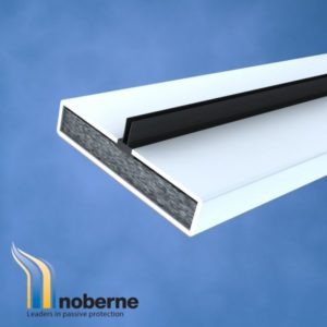 300 no x 100 mm x 30 mm 0.8 mm épais Fire Rated noberne Intumescent charnière Packers